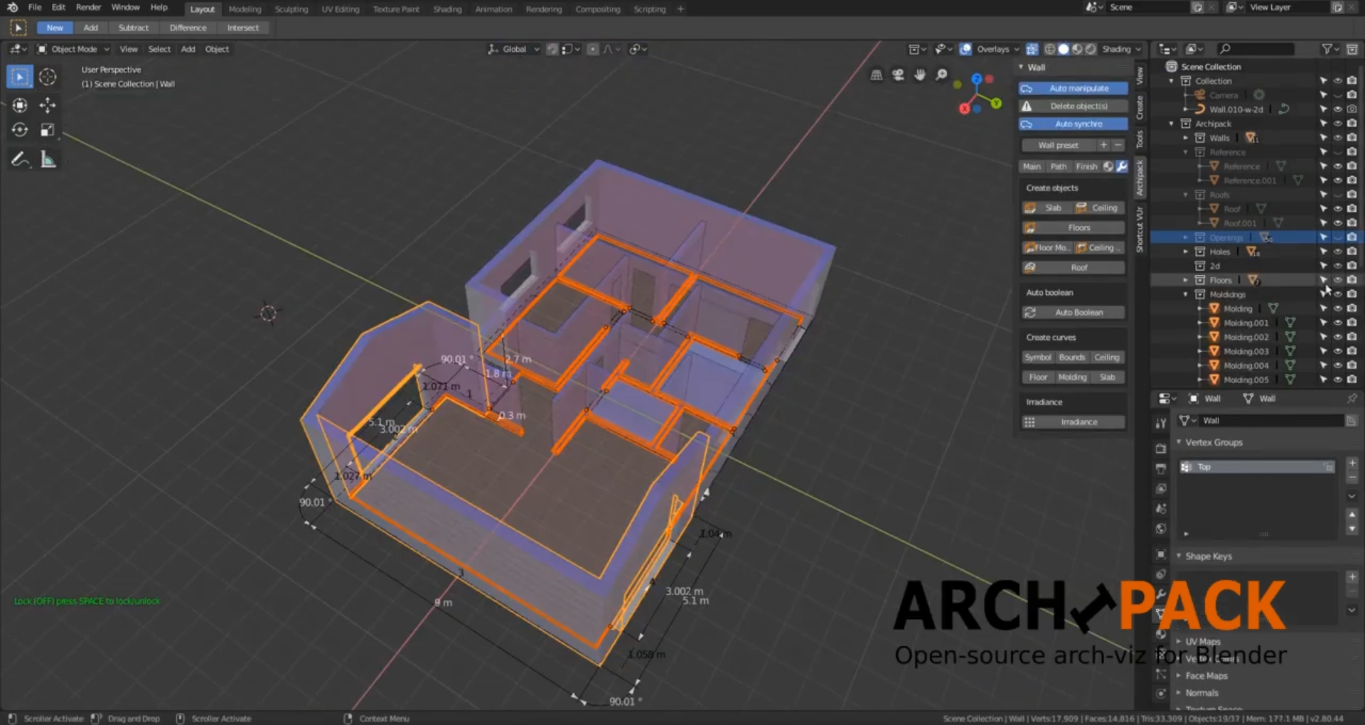 Archipack for Blender