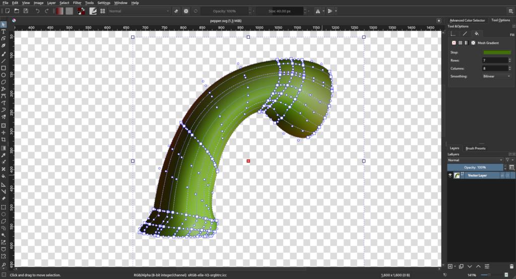 Krita for architectural visualization