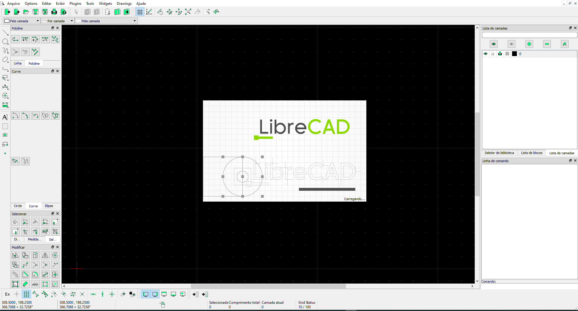 LibreCAD has a new release candidate for the version 2.2.0