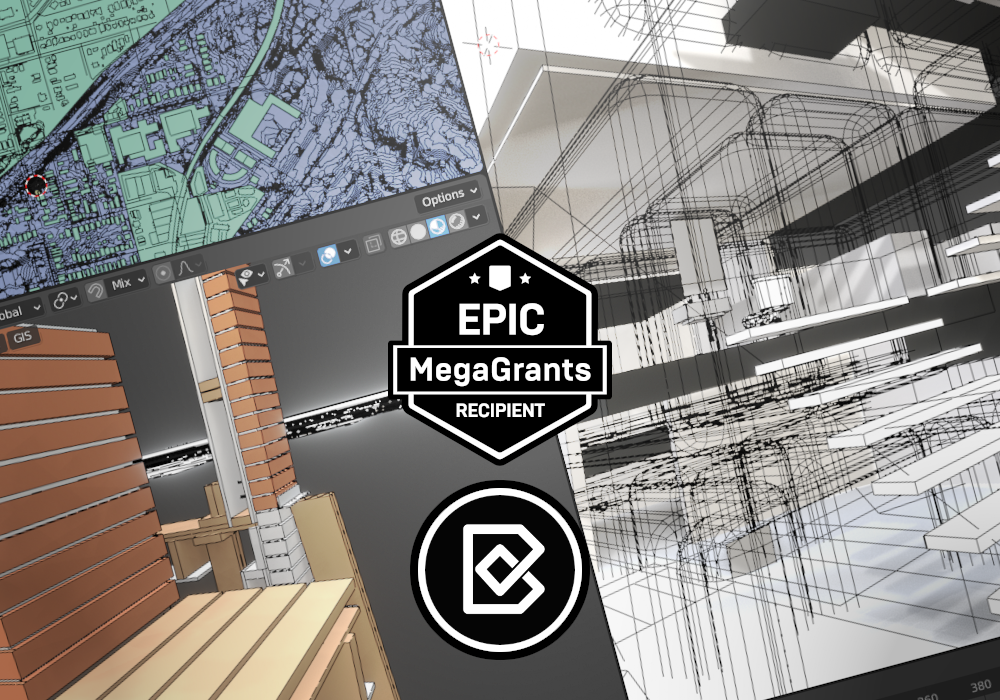 Epic MegaGrants funding awarded to BlenderBIM Add-on